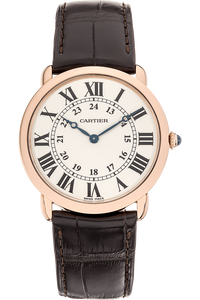 Ronde Solo Louis Cartier Rose Gold Manual