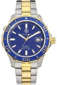 Aquaracer Calibre 5 Yellow Gold and Stainless Steel
