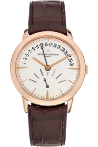 Patrimony Retograde Day and Date Rose Gold Automatic