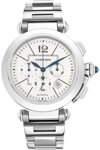 Pasha 42 Chronograph Stainless Steel Automatic