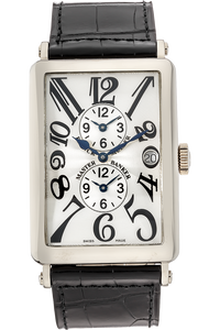 Long Island Master Banker White Gold Automatic