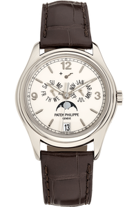 Annual Calendar Reference 5146 White Gold Automatic