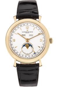 Triple Date Moonphase Yellow Gold Manual