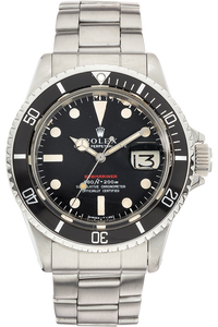 Red Submariner Circa 1970 Stainless Steel Automatic