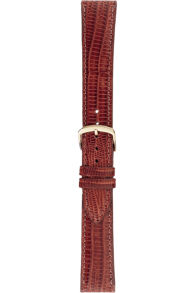 20 mm Tan Teju Lizard Strap