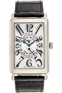 Long Island Bi-Retro White Gold Automatic