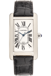 Tank Americaine White Gold Automatic