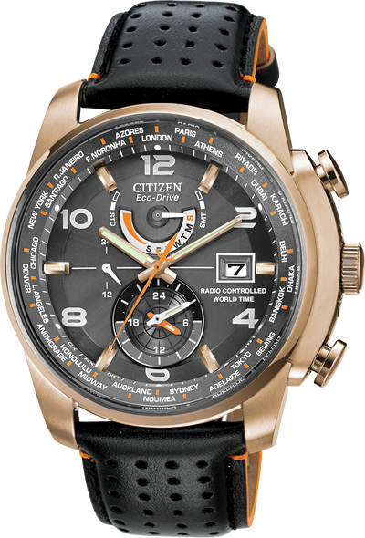 Eco-Drive World Time A-T