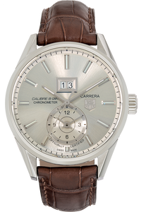 Carrera Calibre 8 GMT Stainless Steel Automatic