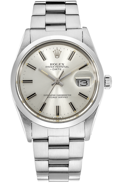 date tiffany co circa 1982 stainless steel automatic