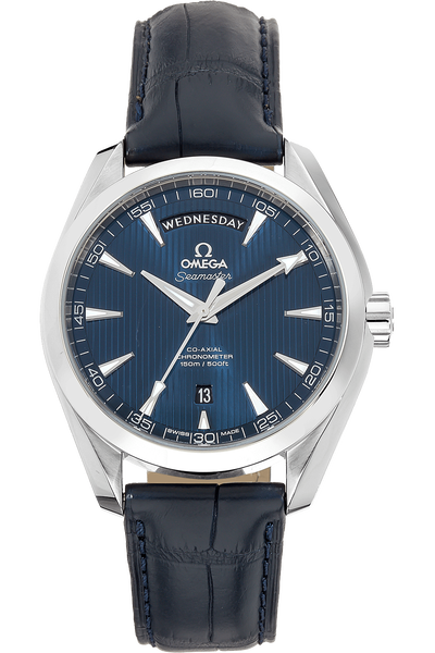 Seamaster Aqua Terra Co-Axial Day-Date Stainless Steel Automatic