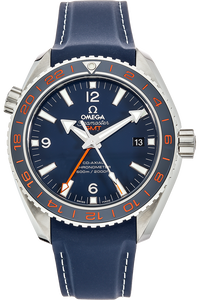 Seamaster Planet Ocean Co-Axial GMT GoodPlanet Stainless Steel Automatic