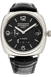 Radiomir 10 Days GMT White Gold Automatic
