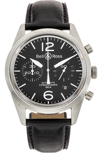 BR 126 Chronograph Stainless Steel Automatic