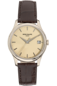 Calatrava Reference 5227 White Gold Automatic