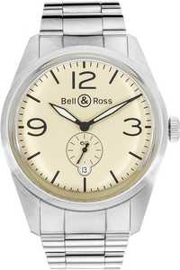BR 123 Original Beige Stainless Steel Automatic