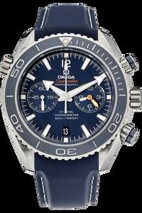 Seamaster Planet Ocean Co-Axial Chronograph Titanium