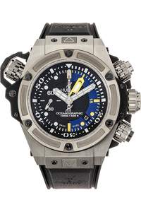 King Power Oceanographic Limited Edition Titanium Automatic
