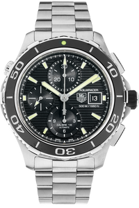 Aquaracer Calibre 16 Chronograph Stainless Steel Automatic