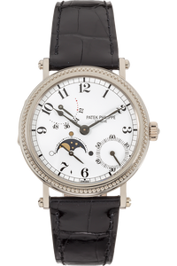 Power Reserve Moon Phase Reference 5015 White Gold Automatic