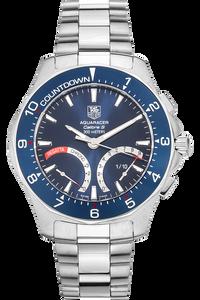 Aquaracer Calibre S Regatta Chronograph Stainless Steel Quartz