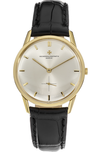 Classic Round Circa 1960s Yellow Gold Manual