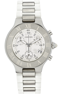 Must 21 Chronoscaph Stainless Steel Quartz