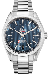 Seamaster Aqua Terra Co-Axial GMT Stainless Steel Automatic