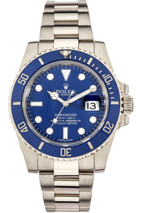 Submariner White Gold Automatic