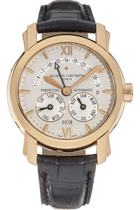 Malte Retrograde Perpetual Calendar Rose Gold Automatic