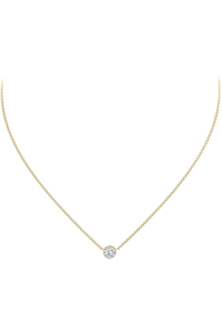The Forevermark Tribute™ Collection Round Diamond Necklace  (.20 ct tw)