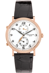 Travel Time Calatrava Reference 5034 Rose Gold Manual
