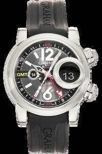 Swordfish Grillo Alarm GMT  Stainless Steel Automatic