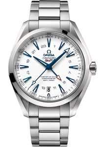 Seamaster Aqua Terra 150 M Omega Master Co-Axial GMT - 43MM