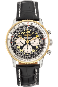 Navitimer Cosmonaute Yellow Gold and Stainless Steel Manual