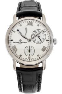 Patrimony Power Reserve White Gold Automatic