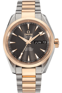 Seamaster Aqua Terra Co-Axial Annual Calendar Rose Gold and Stainless Steel Automatic