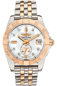 Galactic 36 Rose Gold and Stainless Steel Automatic