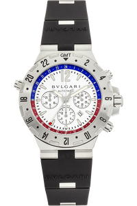 Diagono Professional GMT Flyback Chrono Stainless Steel Automatic