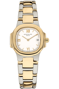 Nautilus Reference 4700 Yellow Gold and Stainless Steel Quartz