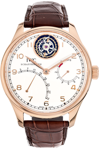 Portuguese Tourbillon Mystere Retrograde Limited Edition Rose Gold Automatic
