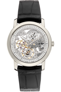 Patrimony Traditionnelle White Gold Manual