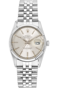 Datejust Circa 1980's White Gold and Stainless Steel Automatic