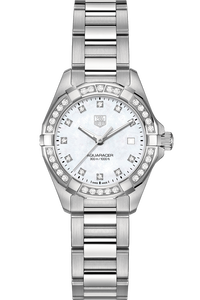 Aquaracer with Diamonds