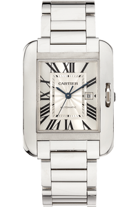 Tank Anglaise White Gold Automatic