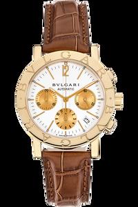 Bvlgari-Bvlgari Chronograph Yellow Gold Automatic