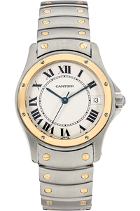 Santos Ronde Yellow Gold and Stainless Steel Automatic