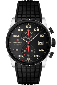 Testa Piatta Swiss Quartz Chronograph