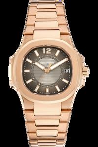 Nautilus Reference 7011 Rose Gold Quartz