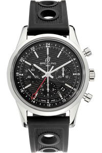 Transocean GMT Chronograph Limited Edition Stainless Steel